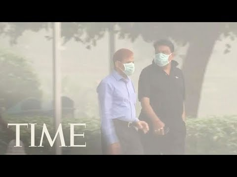 Air Pollution Levels Were 'Off The Charts' In India's Capital | TIME