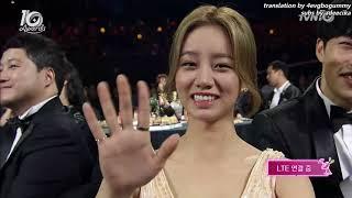 Tvn10어워즈  박보검 Park Bo Gum Won Asia Star Award Eng Sub 161009