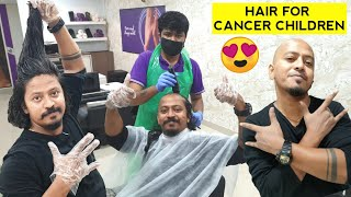 I Shaved my Head for Cancer Children | Finally revealed
