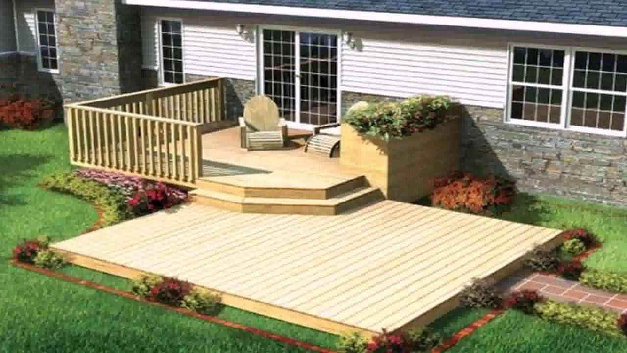 Simple Concrete Patio Design Ideas Gif Maker Daddygif Com See
