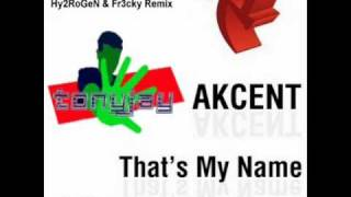 Akcent - That