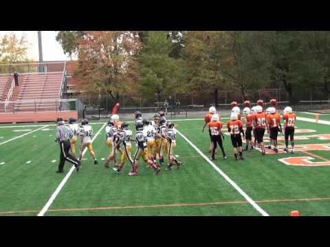 Chagrin Falls 7th Grade Football Team Game Against Kirklandeo