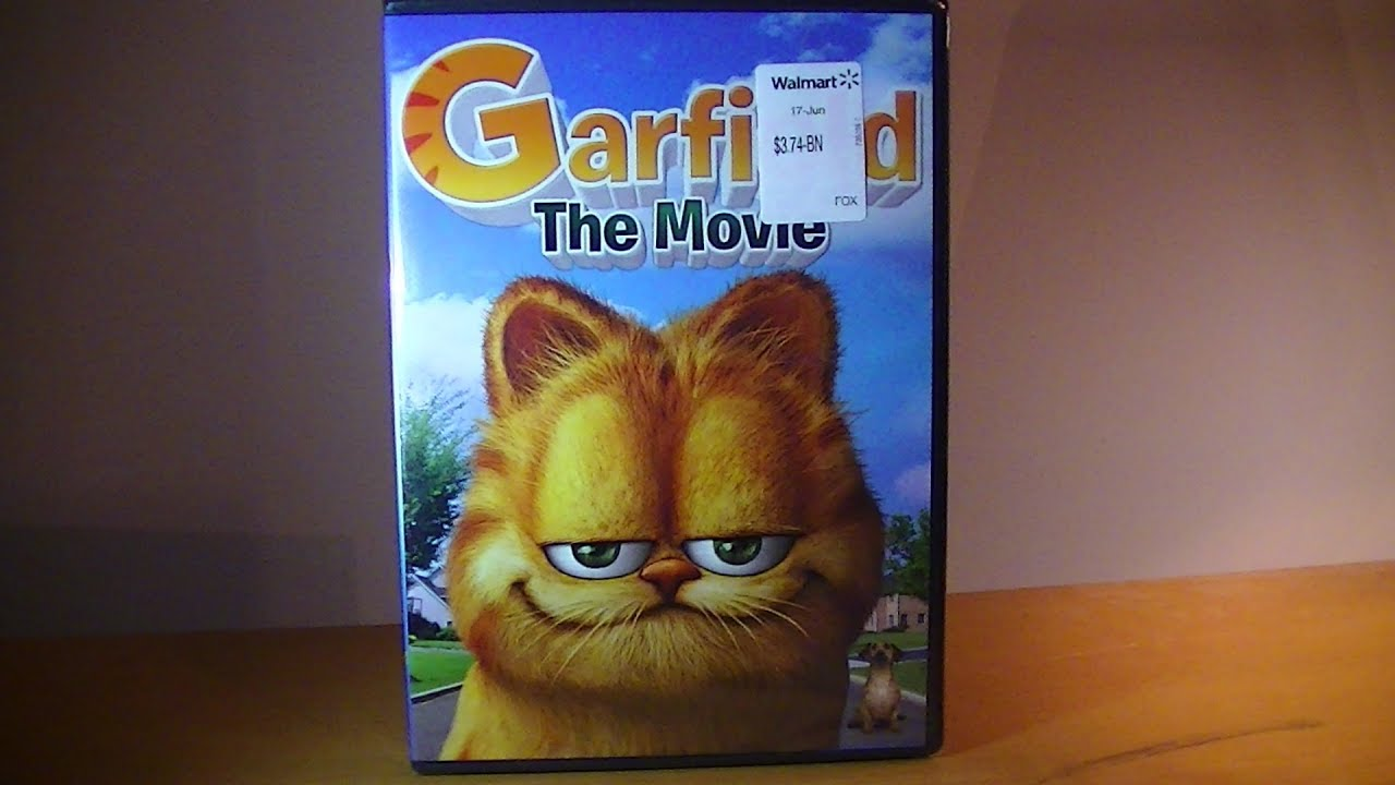 Garfield The Movie Dvd Unboxing Youtube