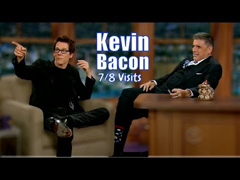Kevin Bacon - Has A Few Hilarious Anecdotes - 7/8 Visits In chronological Order
