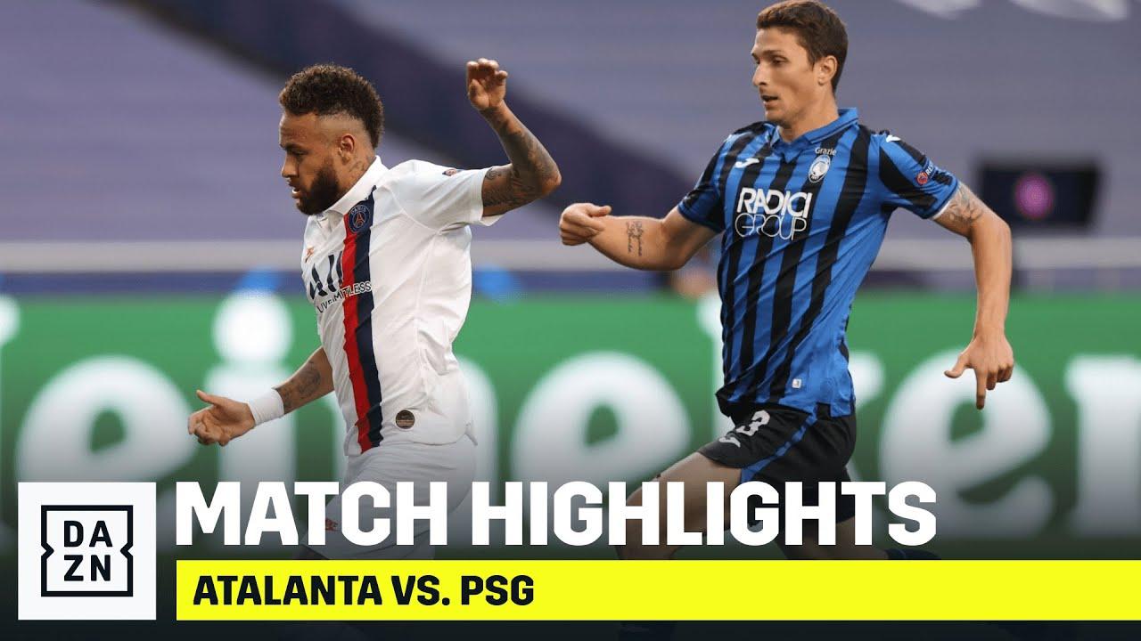 HIGHLIGHTS   Atalanta vs. PSG (UEFA Champions League Quarter-Finals)