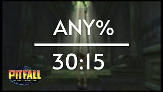 Pitfall: The Lost Expedition any% Speedrun (30:15)