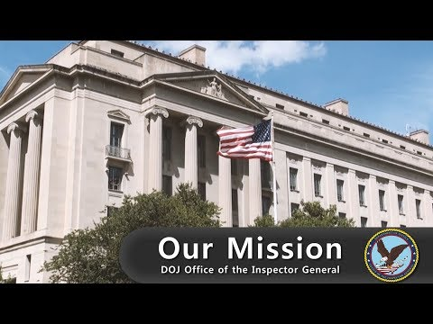 Our Mission -- U.S. Department of Justice Office of the Inspector General