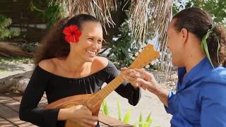 "Duo Grace et Tapuarii Laughlin ""Close your eyes Tahiti"""