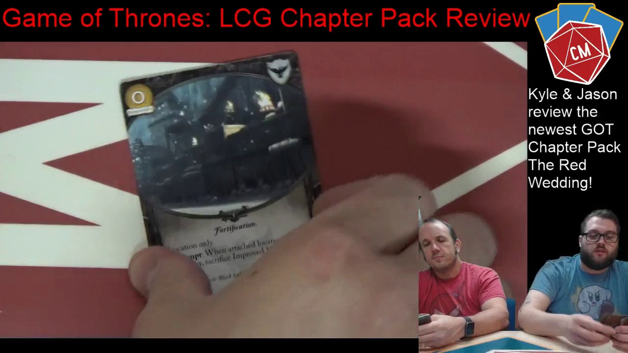 When Is The Red Wedding.Game Of Thrones Lcg Chapter Pack Review The Red Wedding