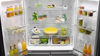 월풀 세미빌트인 주피터 4도어 냉장고_6WQN1SS