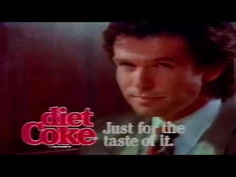 Pierce Brosnan Diet Coke Cola Commercial 1988