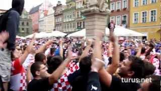 Hrvatska! Croatia Fans Euro 2012