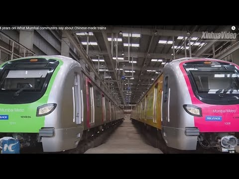 4 years on! What Mumbai commuters say about Chinese-made trains