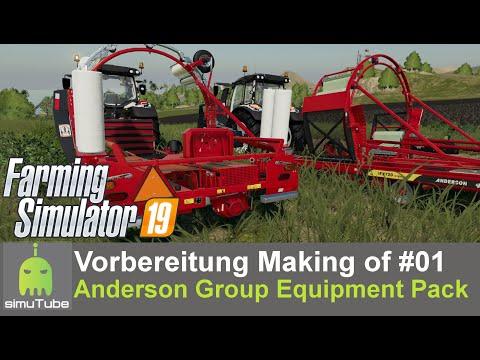 LS19 Making of - Vorbereitung Vorstellung Andersons DLC #01 Gameplay German HD