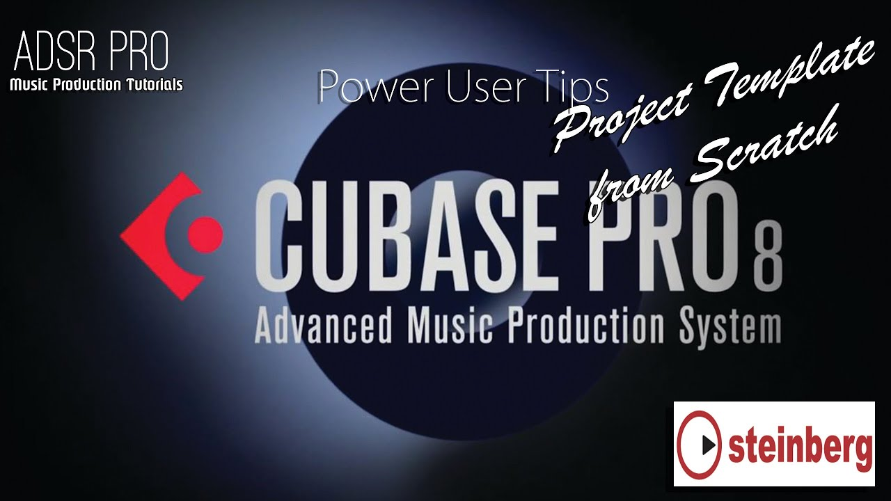 Creating a Cubase Pro 8 Project Template from Scratch - YouTube