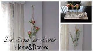 Do Lixo ao Luxo com garrafas de vidro – Home&Decora