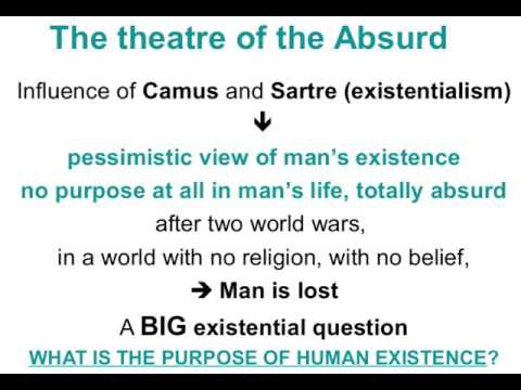 Theatre of the Absurd, Samuel Beckett, pt.1 - David Giampetruzzi, revision notes.