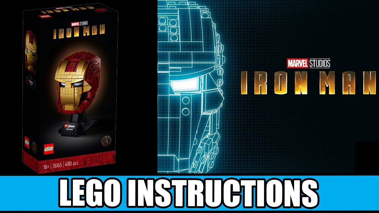 LEGO Instructions: How to Build Iron Man Mask - 76165 (LEGO MARVEL)
