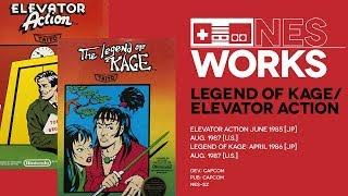 Elevator Action & Legend of Kage retrospective: Ups and downs   NES Works #046