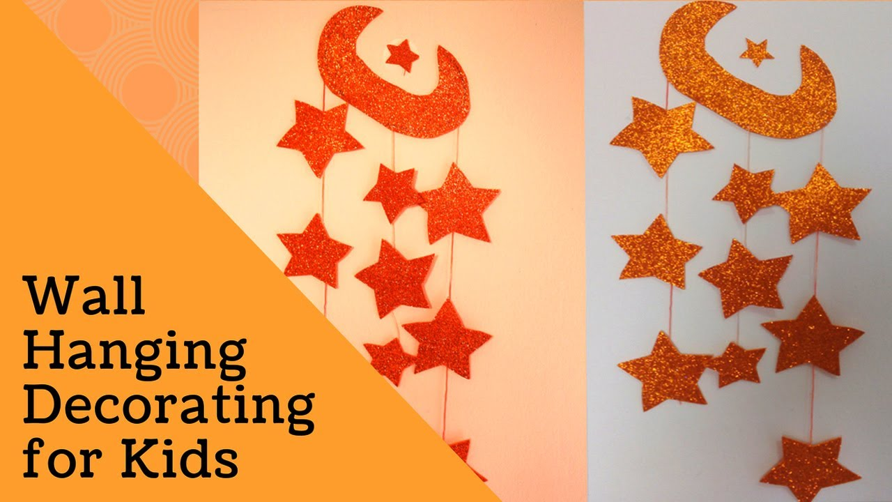 DIY Crafts for Room Decor - Wall Hanging Decorating for Kids ...