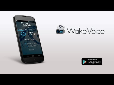 WakeVoice - Android Alarm