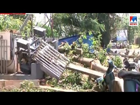 ചാലക്കുടിയിൽ ചുഴലിക്കാറ്റ് നാശം വിതച്ചത് മൂന്ന് കിലോമിറ്റർ ദൂരം | Chalakkudy Cyclone