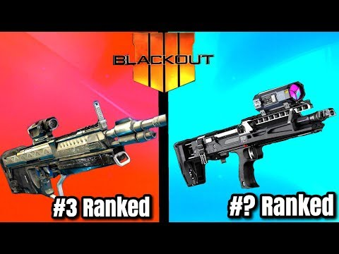Top 5 BEST GUNS In BLACKOUT! - Call of Duty Battle Royale