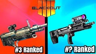 Top 5 BEST GUNS In BLACKOUT! - Call of Duty Battle Royale