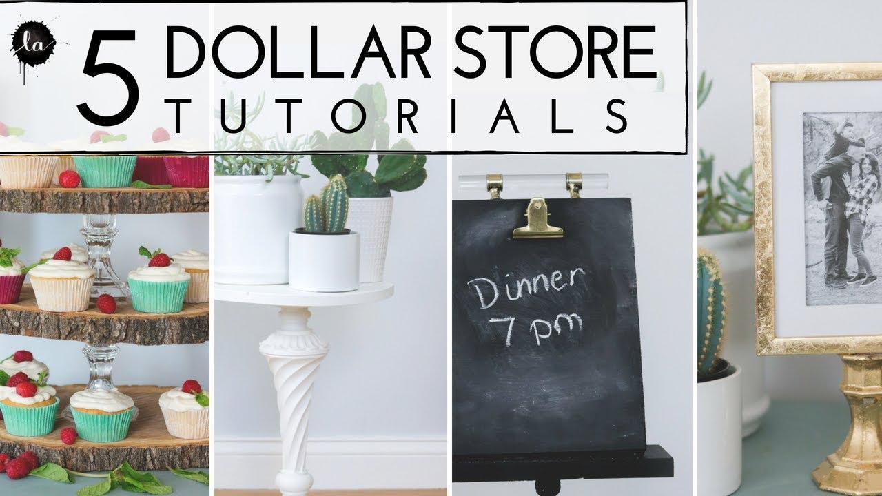 5 Dollar Store And Thrift DIYS