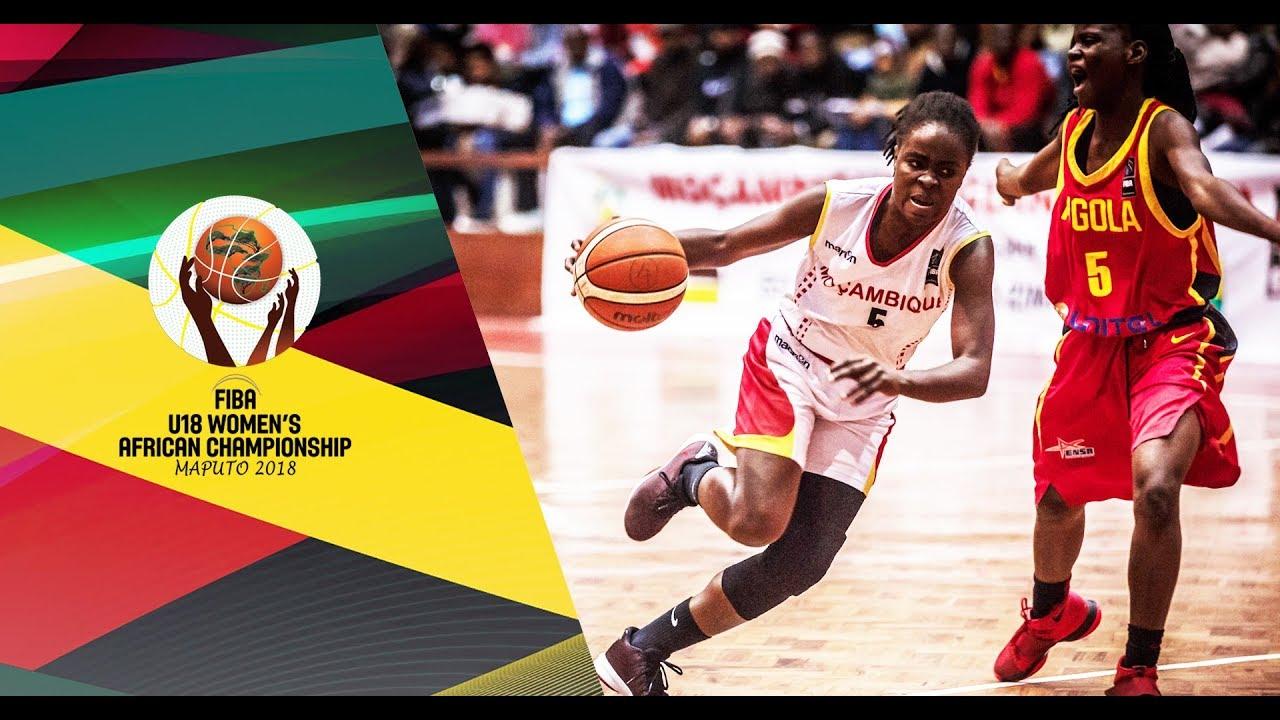 Mozambique v Angola - Full Game - Semi-Final - FIBA U18 Women s African  Championship 2018 a787b22548499