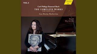 """Keyboard Sonata in B Minor, Wq. 49/6, H. 36, """"Wurttemberg Sonata No. 6"""": II. Adagio non molto"""