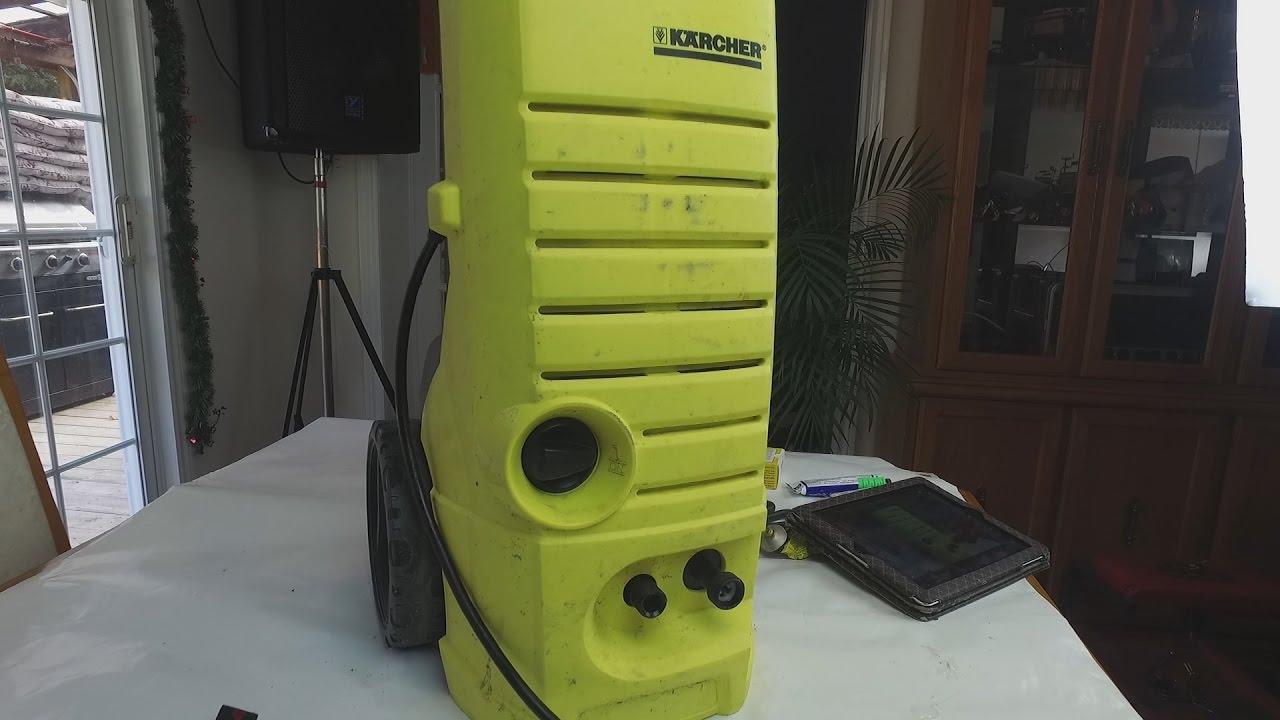 karcher pressure washer k2 serial number