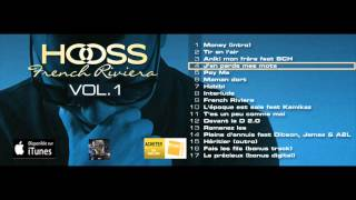 Download HOOSS // J'en perds mes mots // Audio officiel 2015 // #FrenchRivieraVol1 MP3 song and Music Video