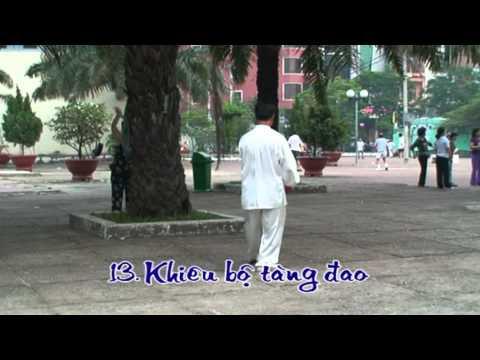 Thái cực đao 28 thức - VS Huỳnh Nghĩa Đạt