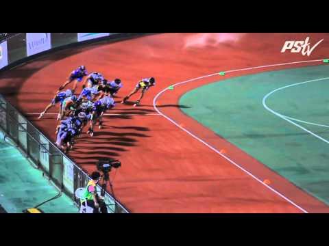Powerslide VideoLog  - Yeosu 2011 - 08 - Men 15k Elimination