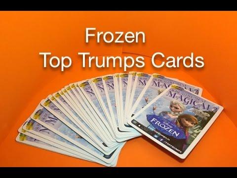 Frozen Top Trumps Cards