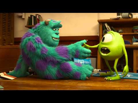 Monsters University Official Trailer #2 - Billy Crystal, John Goodman Movie [HD]