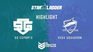 Highlight Starladder ImbaTV 2018 | SG-Esports vs Vega - Bo 3