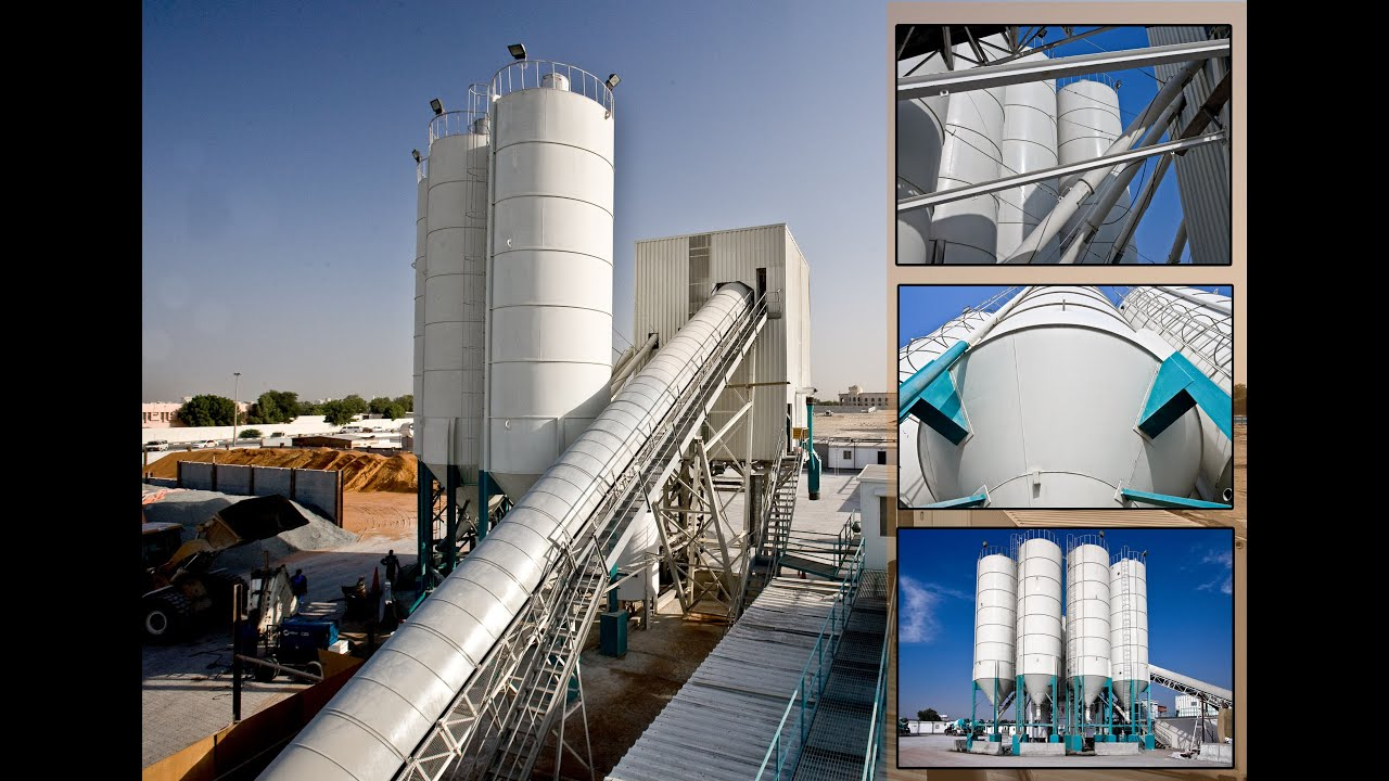 Cement Loading Plant : How to make concrete batching plant by