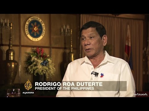 Al Jazeera's Full Exclusive Interview with Pres. Rodrigo Duterte (HD)