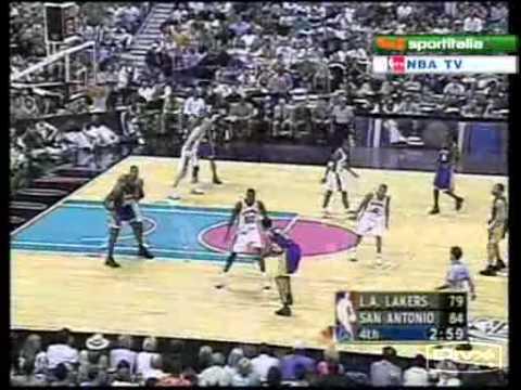 Kobe Bryant game winner vs Spurs (2002 playoffs - game 4)