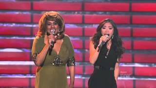 "Jessica Sanchez & Jennifer Holliday ""And I Am Telling You Im Not Going"""