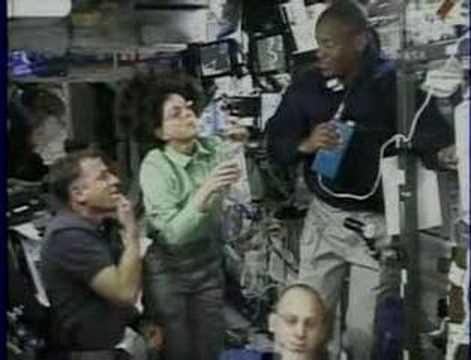 Barbara Morgan Returns From Space