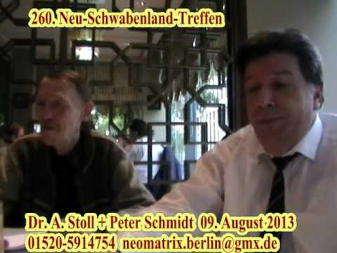 260. Neu-Schwabenland-Treffen Dr. Stoll + Peter Schmidt 09. August  2013 1v3