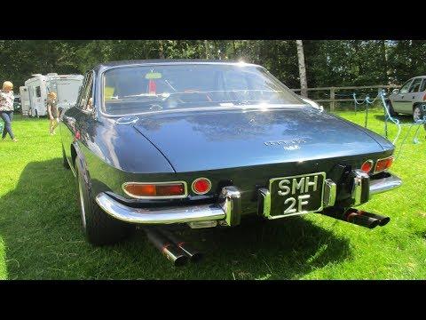 £500K V12  Ferrari 330 GTC With OkP Sport Exhuast - Sounds - Revs [HD]