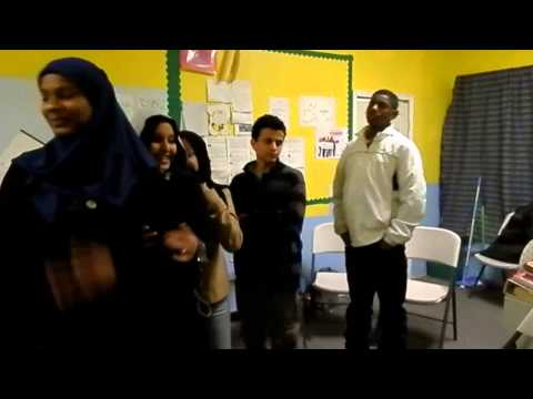 Students at Islamic Leadership School in the Bronx