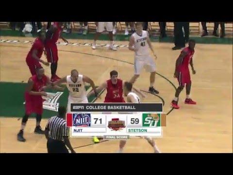 NJIT at Stetson Basketball Highlights (ESPN3)