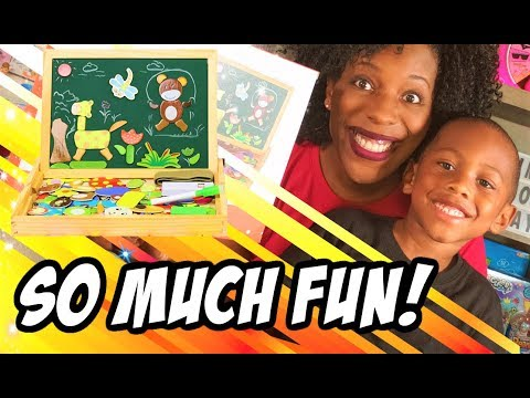 becko-double-sided-magnetic-drawing-board-for-kids-toy-review-|-kid-friendly-educational-toys