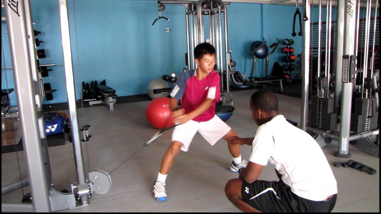 Tennis Fitness Functional Training Idrissa Diallo Strength And