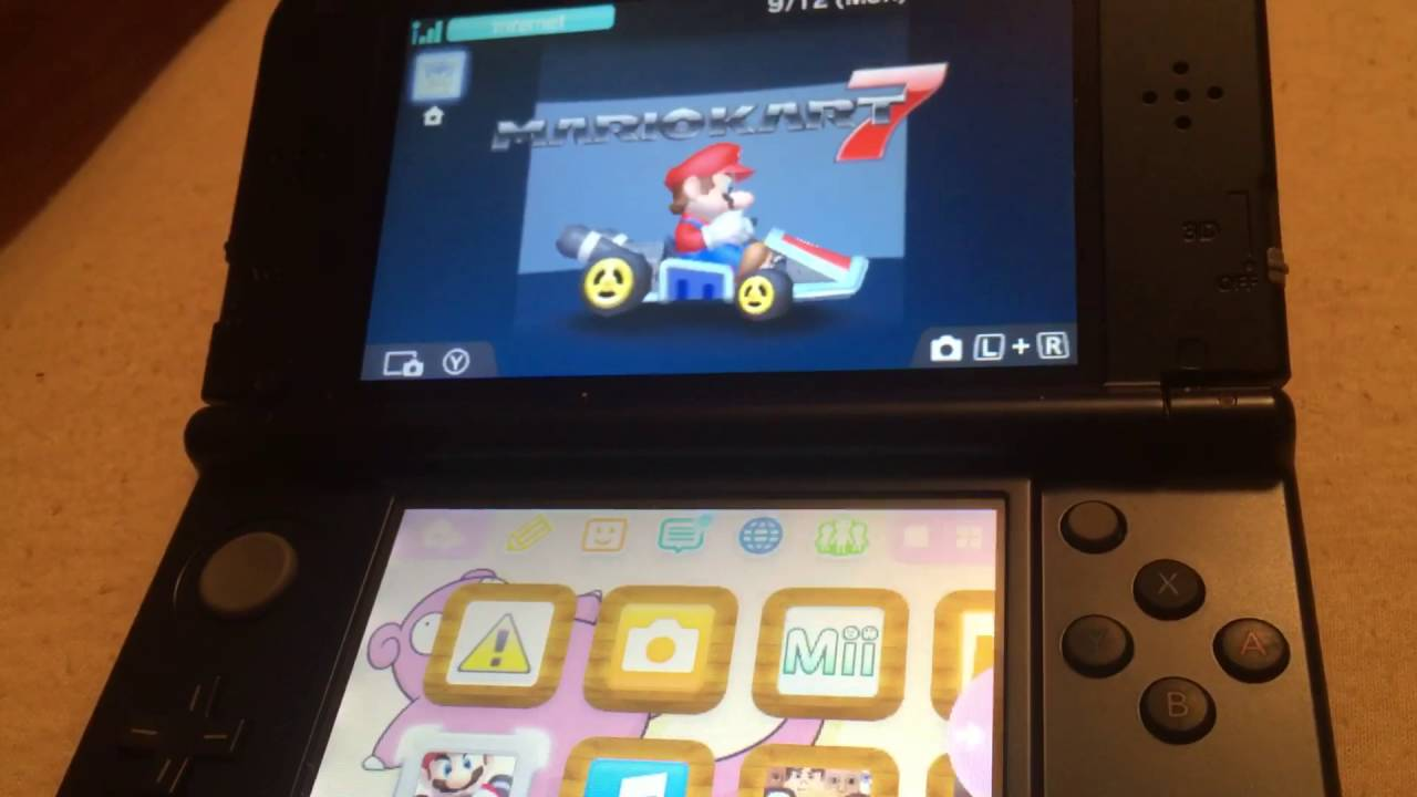 how to reset your data in mario kart 7 youtube. Black Bedroom Furniture Sets. Home Design Ideas
